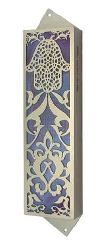 really really pretty. would be nice on the front door. mezuzah  sc 1 st  Pinterest & 15 best Mezuzah images on Pinterest | Jewish art Jewish mezuzah and ...