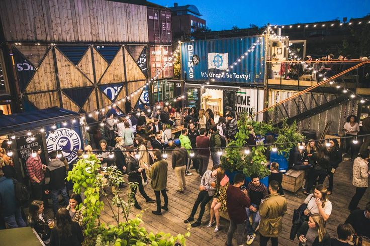 Exciting events space  – Pop Brixton  – London  – #industrial