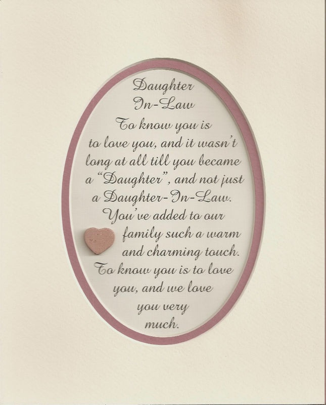 """47 best """"Daughter In Law Idea's"""" images on Pinterest   Beautiful family, Birthday gifts and ..."""