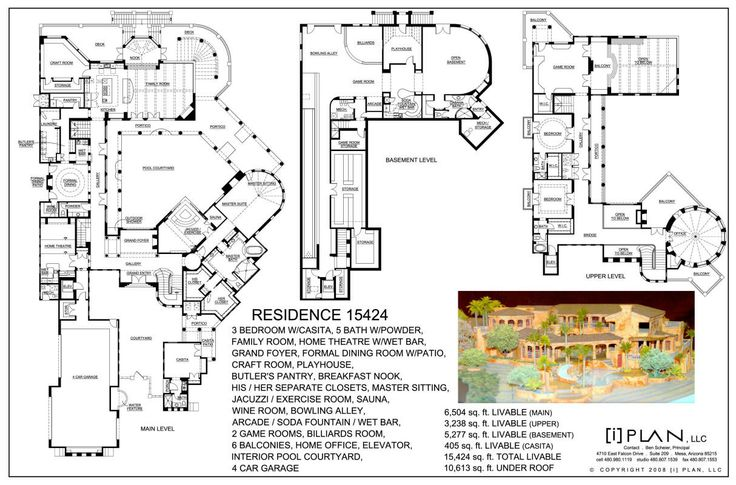 8 best luxury home plans 7500 square feet and up images on luxury home design by i plan llc 15424 square feet malvernweather Image collections