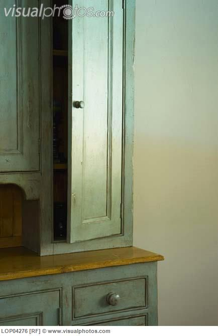 Distressed Green Cabinets French Country Pinterest