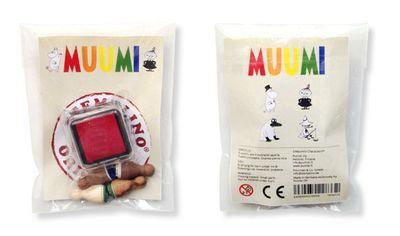 Muumi-leimasimet, 4kpl:Muumipappa, Pikku Myy, Nuuskamuikkunen ja Mörkö - 13.90 €