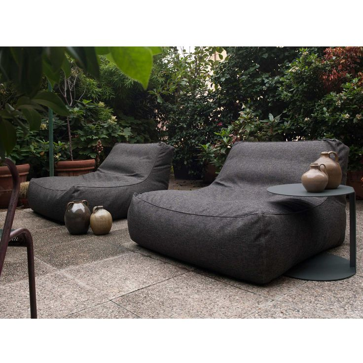 25 best ideas about contemporary outdoor furniture on for Bean bag chaise lounge