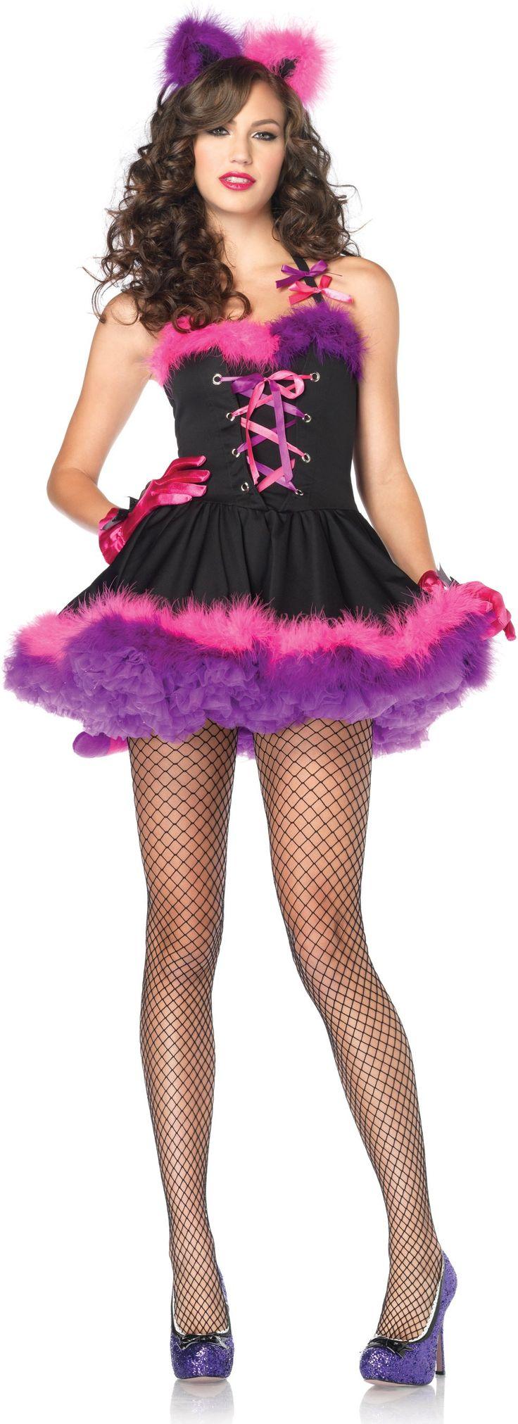 mischievous chesire cat costume (adult)