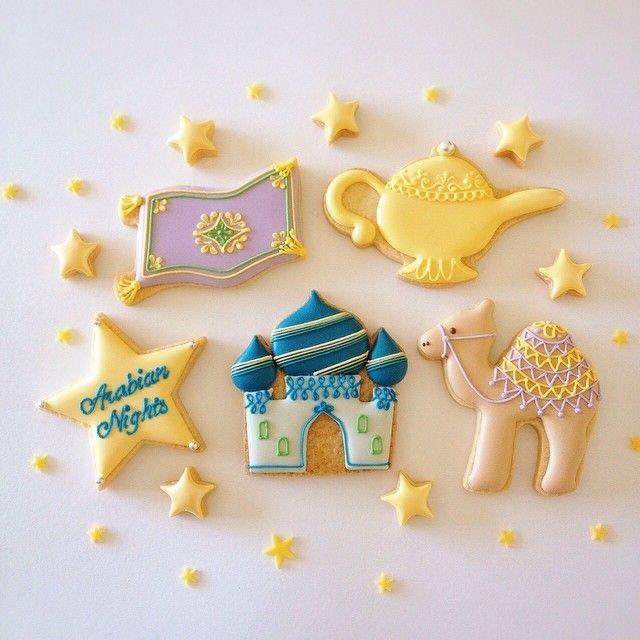 アラビアンナイト icingcookies#sugarcookies #アイシングクッキー
