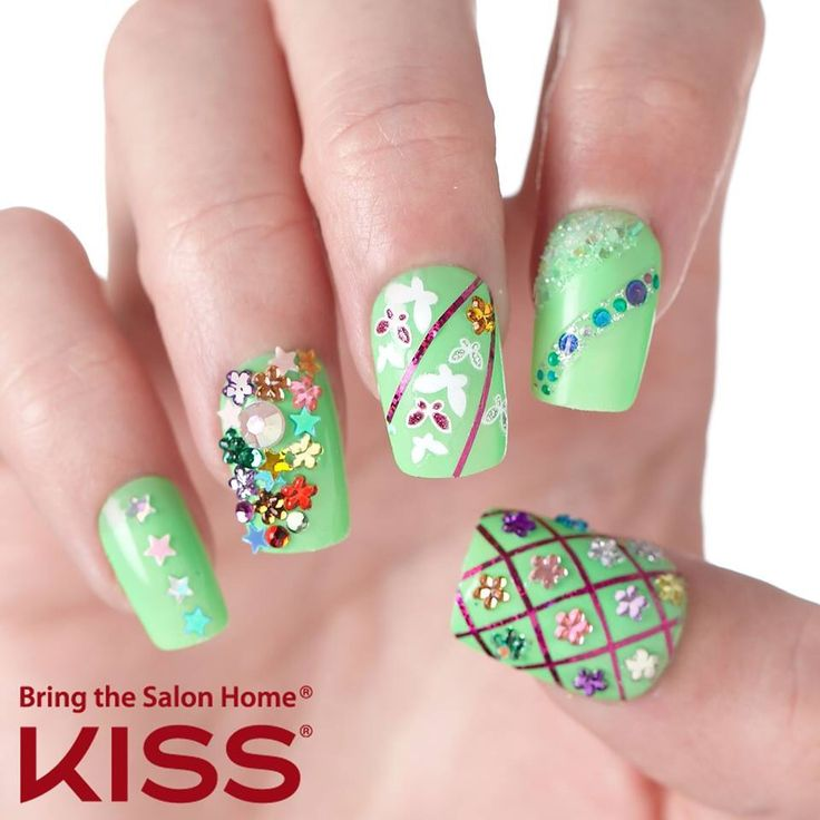 22 best Fun Nail Art with imPRESS Gel Manicure images on Pinterest ...
