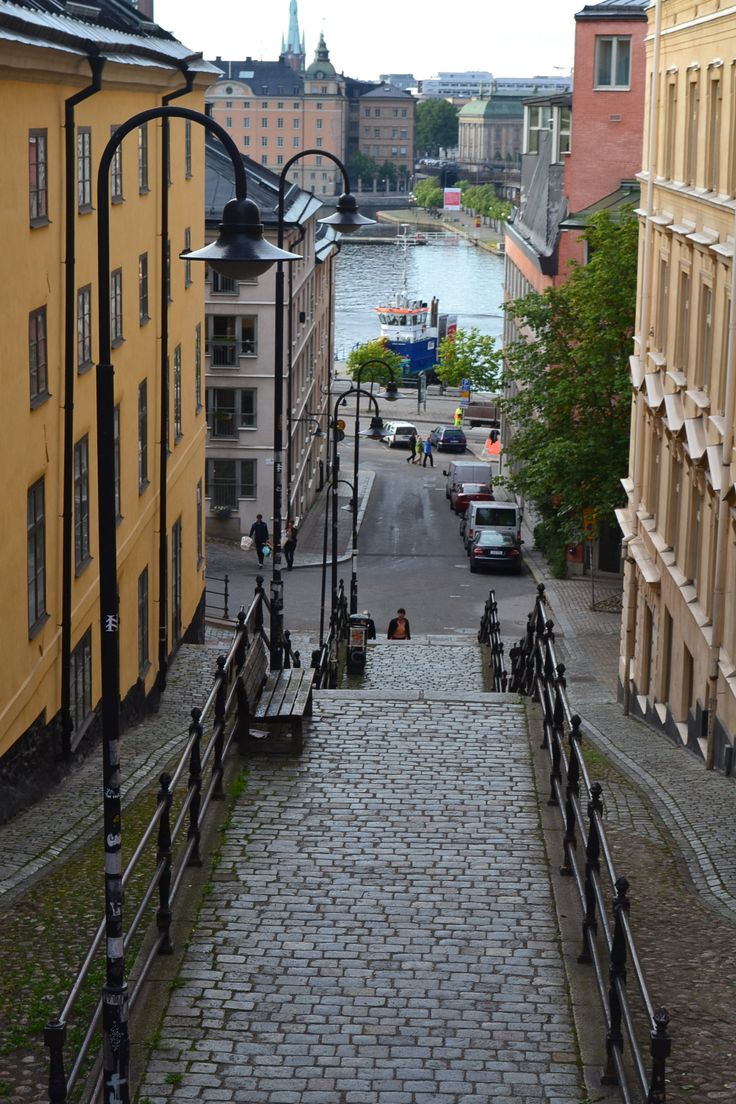 The streets of Södermalm Stockholm