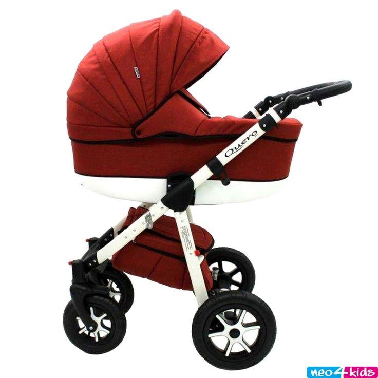 Kinderwagen Kombikinderwagen Babywanne Buggy Autositz 3in1 Quero Lein