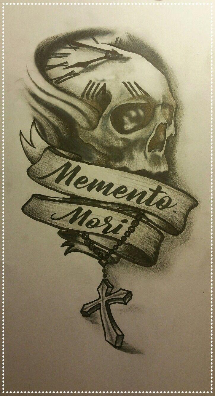 Memento mori inspired by Pinterest