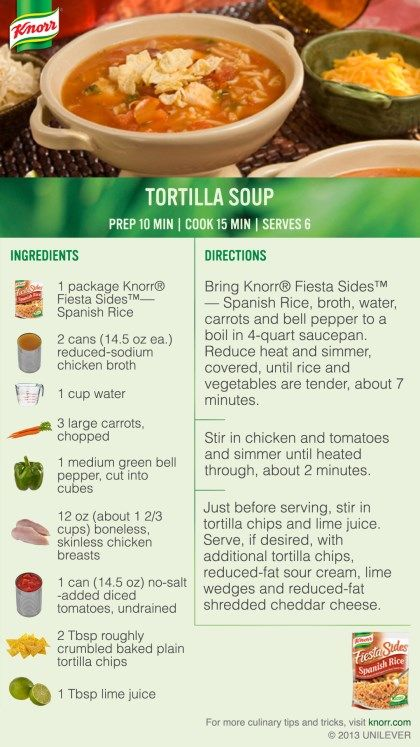 "I voted for Tortilla Soup in the #Knorr ""What's for Dinner Tonight?"" sweepstakes. Enter for a chance to win big! NoPurNec18+ Ends 11/8/13 Rules: http://content.knorr.com/Content/Facebook/whats-for-dinner-sweepstakes-official-rules.html"