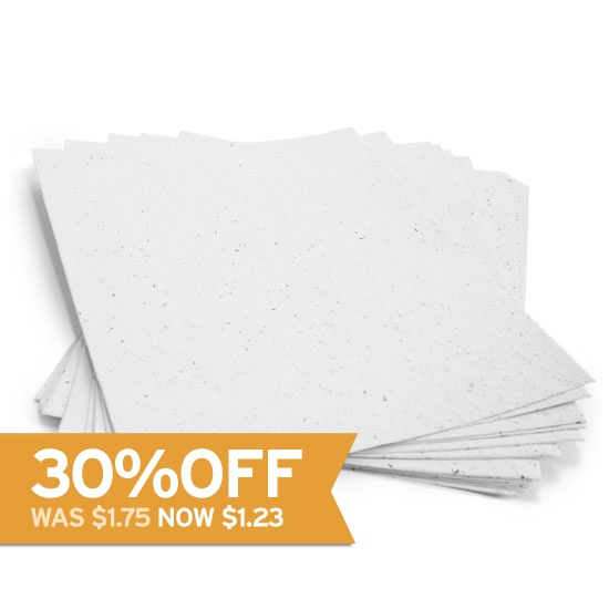 how to make seed paper sheets