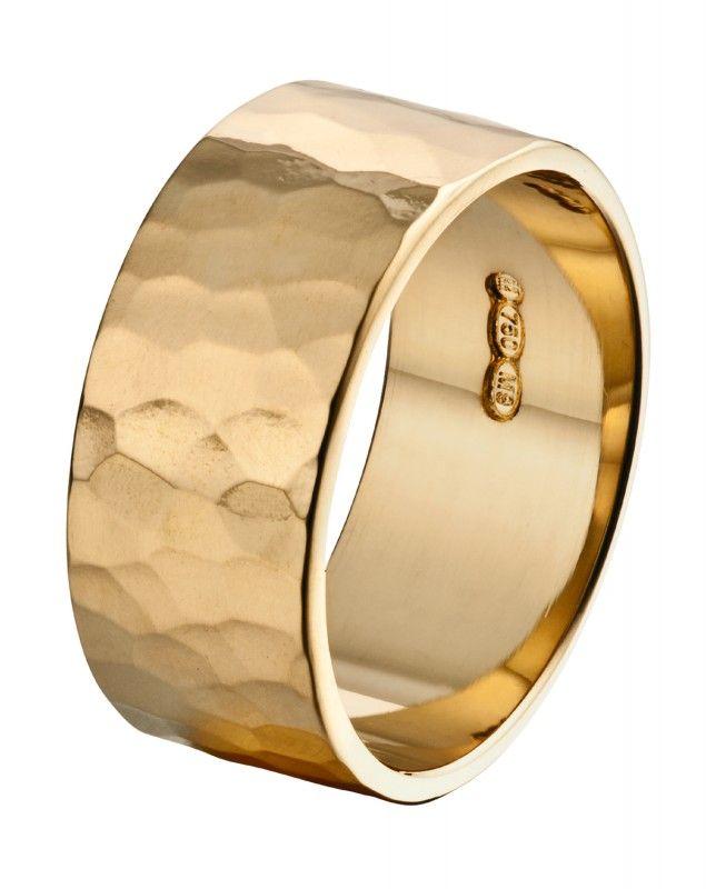 Luoto ring, Kalevala Koru, 14K yellow gold