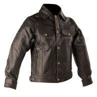 Denim Style Leather Jacket