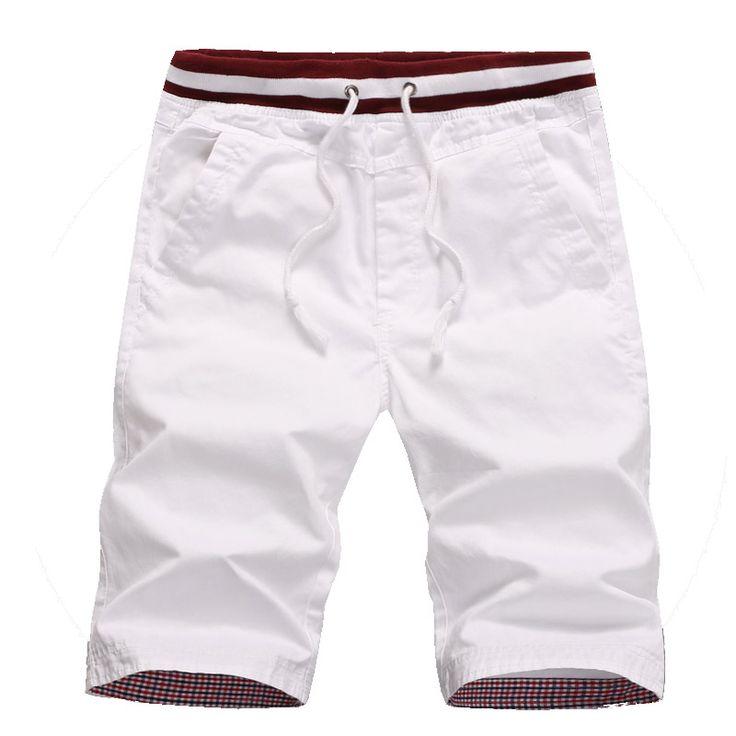 2017 nuevas llegadas de algodón para hombres shorts homme playa slim fit bermuda masculina chándal M-5XL CYG192