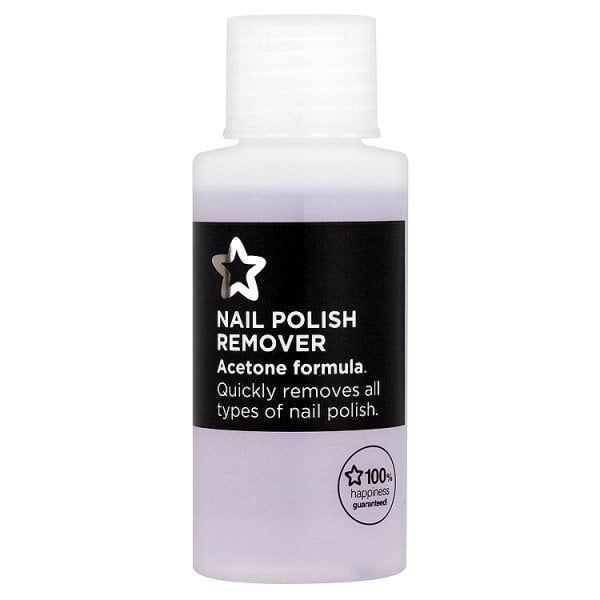 Superdrug Acetone Nail Polish Remover 50ml Nail Polish Remover Types Of Nail Polish Gel Nail Polish Remover