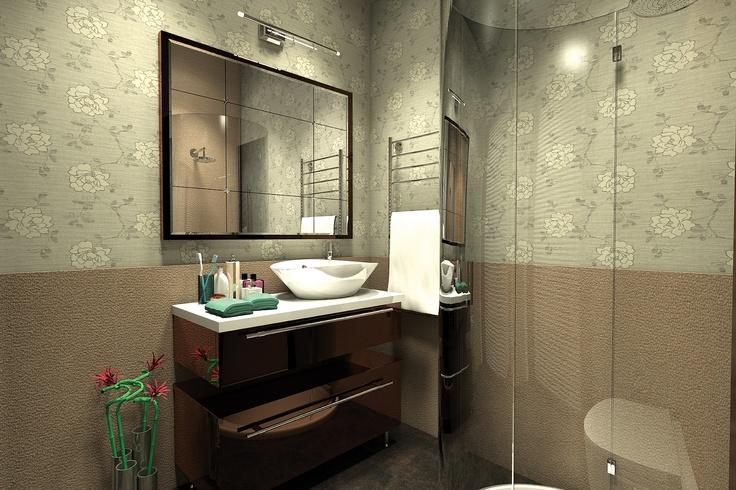 parkstudio kurumsal iç mekan tasarımı. stüdyo daire iç mekan tasarımı dahilinde banyo tasarımı & uygulama.