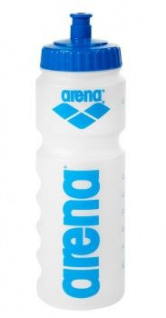 Arena Water Bottle - Clear / Blue