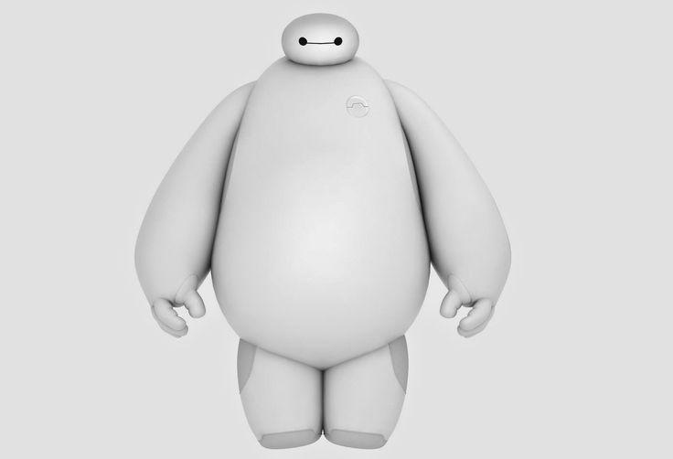 Download Disney Big Hero 6 - Baymax FREE 3D Model | CG Daily news