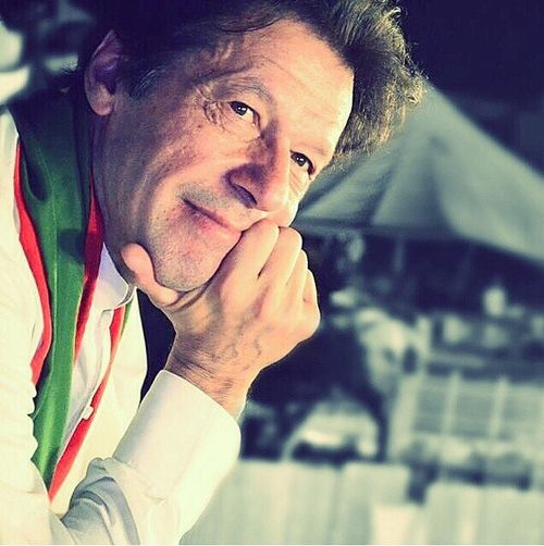 The brave face of Imran Khan (our future leader!) INSHALLAH!