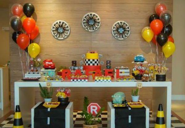 temas de aniversario de menino infantil com bateria carros - Pesquisa Google