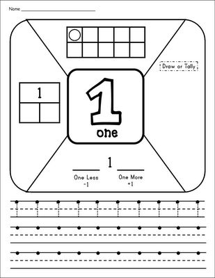 Inspired by Kindergarten: Number Introduction Time! (Freebie alert!)