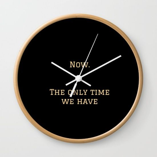 #time #now #Society6 #wallclock