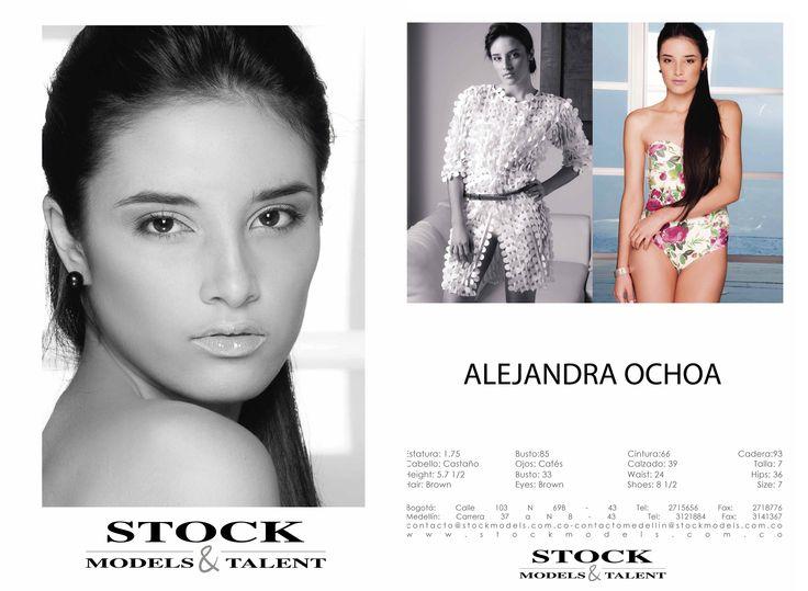 Alejandra Ochoa- Modelo Stock Models -