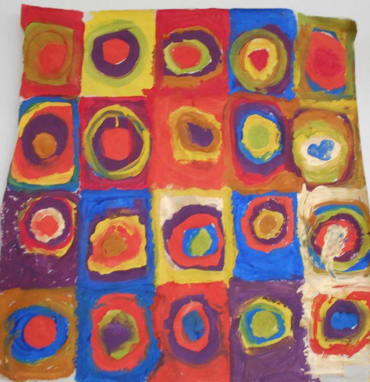 με αφορμή τον πίνακα του Καντίνσκι -χρώματα!!!!