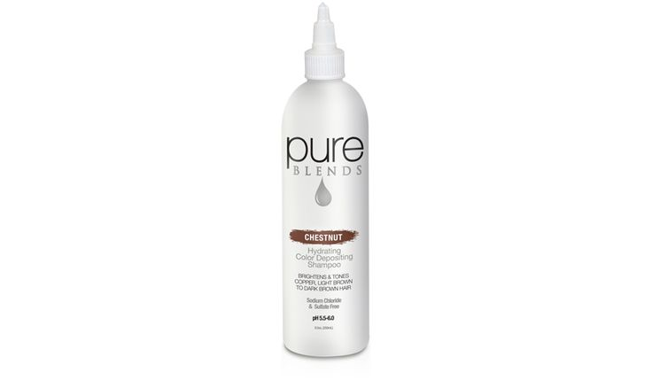 pure BLENDS Chestnut Color Depositing Shampoo - Color Depositing Shampoo - Pure Blends - American Culture Hair | Keratin Hair Products & Treatment - AC/Salon