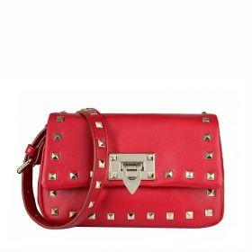 TMC Black Rivet Handbag Leisure Purse [YL136 black] : tmc fashion handbag store