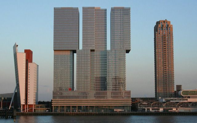 The Rotterdam, Point of view from Rotterdam City