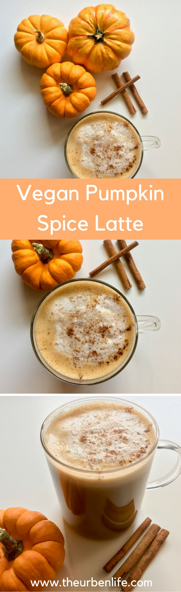 Vegan Pumpkin Spice Latte (Dairy Free)