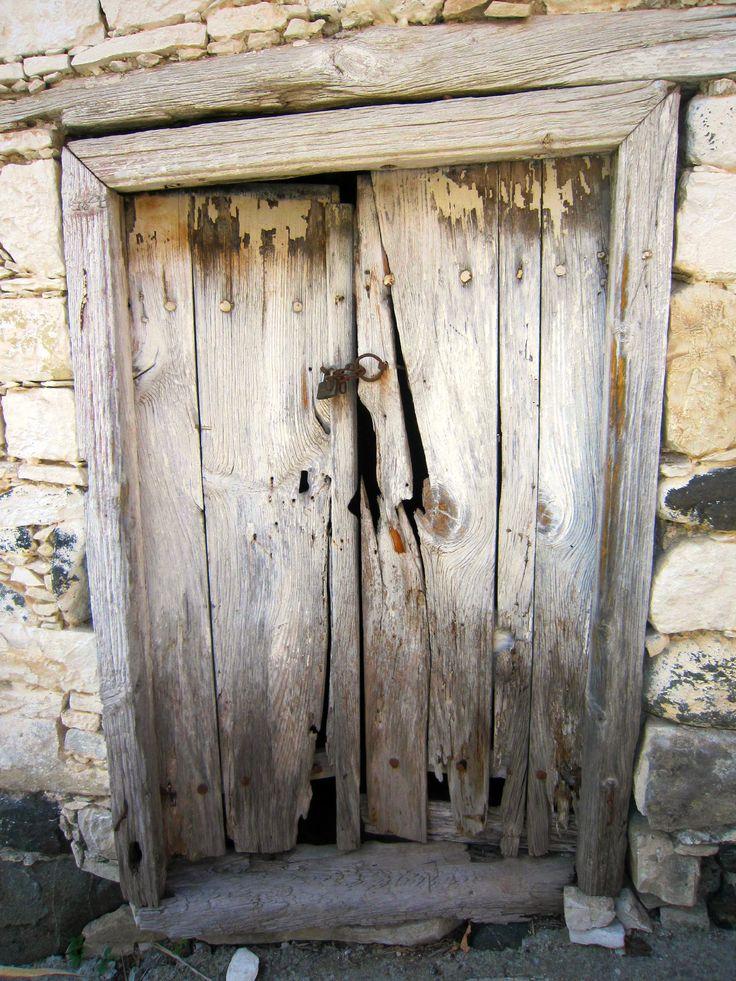 Door from Lefkara- Cyprus