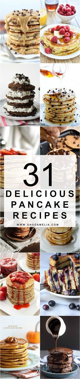 Pancake Day is around the corner, meaning these 31 delicious recipes are NEEDED - yum!