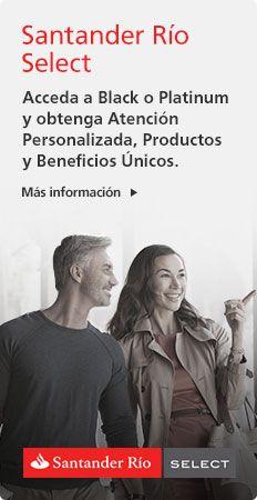 ¿Querés abrir una cuenta? Cinco opciones a un precio único con Santander Río.