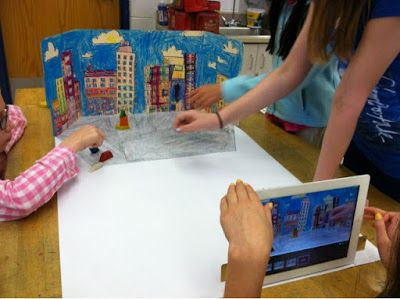 Stop Motion Animation Lesson
