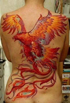 Tatuagens fodonas de Fenix!