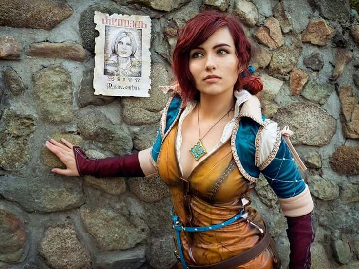 Cosplayer: Stela Papazova Art Photographer: Nikolay Bichev Character: Triss Merigold From: The Witcher 3 Country: Bulgaria