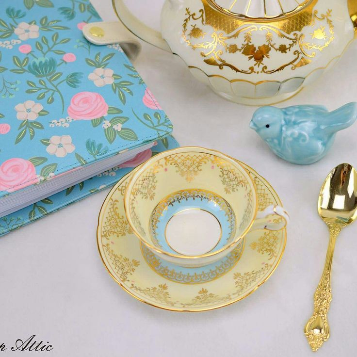 Another gorgeous teacup ready for a new home.