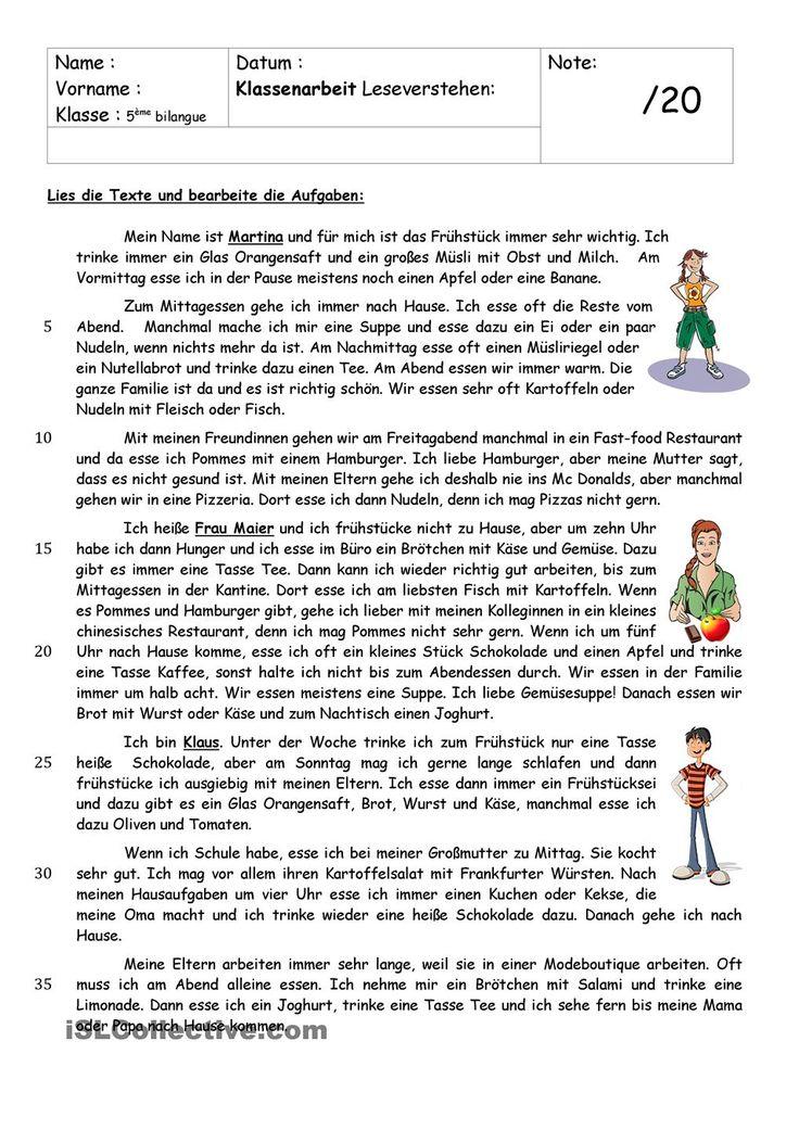 98 best German-LESEN images on Pinterest | Learn german, Languages ...