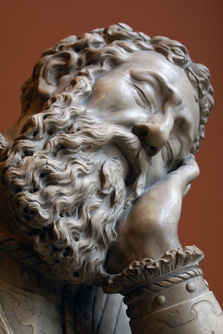 Belle tête de vieillard. Le Louvre.