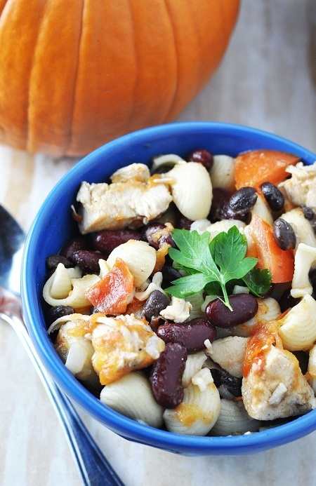 Portuguese inspired chicken and bean stew