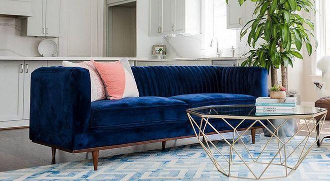 40 Detailed Notes On Blue Velvet Sofa In An Easy To Follow Order Blaues Samtsofa Blaue Samtcouch Samt Sofa