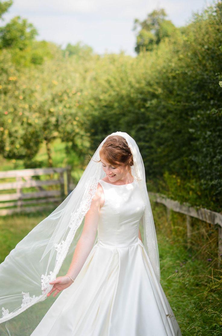 #bride #summer #zomer #bruid #veil #beautiful #sluier #mooi