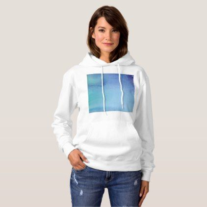Dark Blue Marble Watercolour Hoodie - marble gifts style stylish nature unique personalize