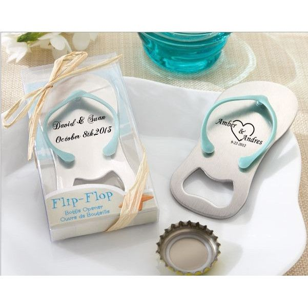 50pcs Personalized bottle opener wedding favors