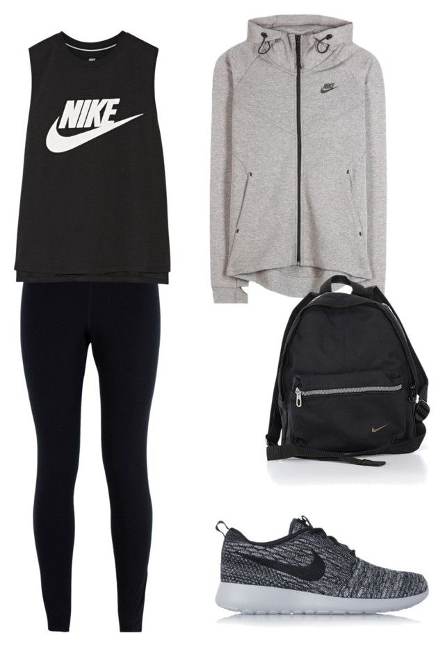 """""""Untitled #16"""" by hongjina on Polyvore featuring NIKE"""