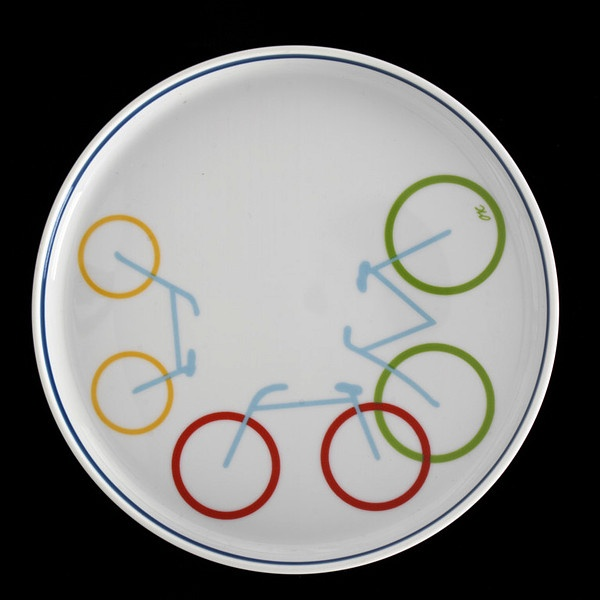 Royal Copenhagen Picnic plate (1982-3)