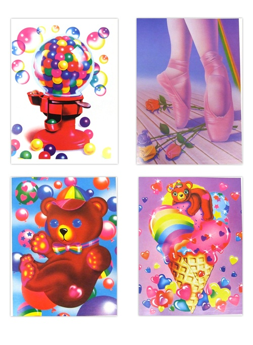 Lisa frank! I had the bubble gum stationery and so many folders and stickers!