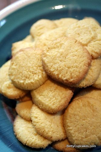 Cornmeal Cookies by Lidia Bastianich | >> Food: Desserts | Pinterest